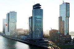 Hochhäuser in Rotterdam