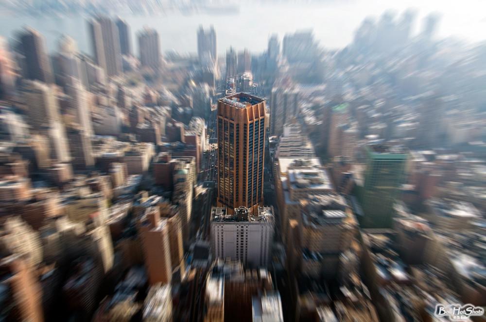 Hochhaus-Landschaft New York City