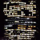 Hochhaus mit Büro Licht.