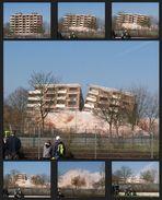 Hochhaus - Sprengung Weeze 11.03.2007