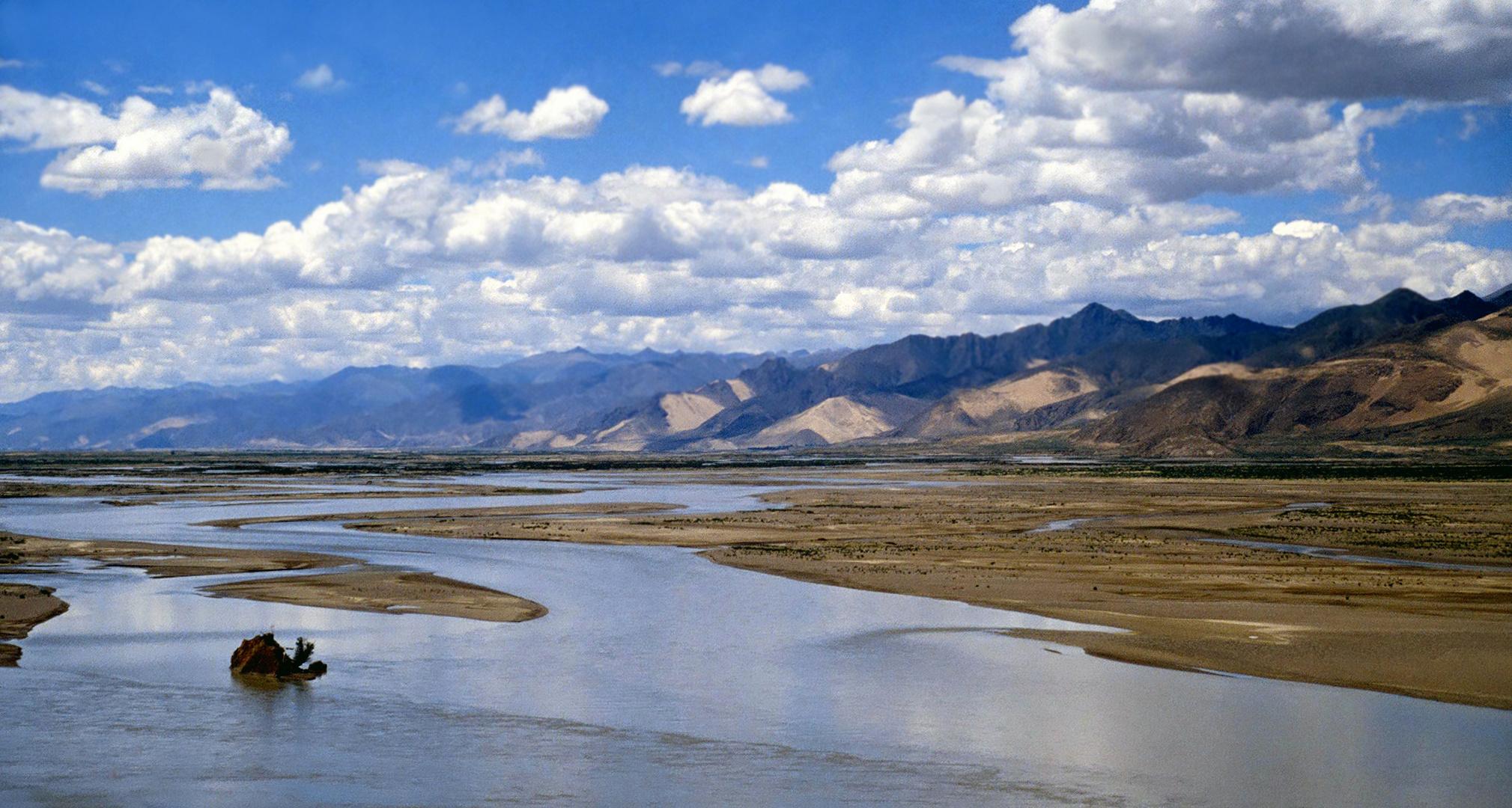 Hochland in Tibet