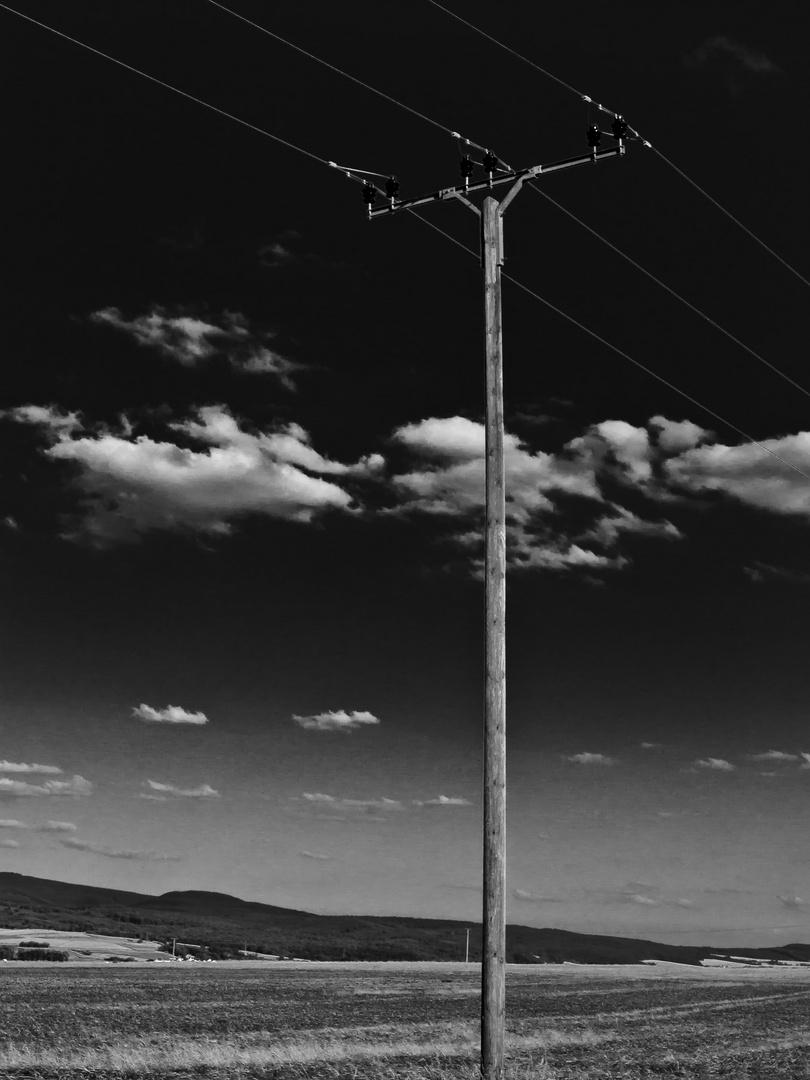 Hochspannung&Wolken