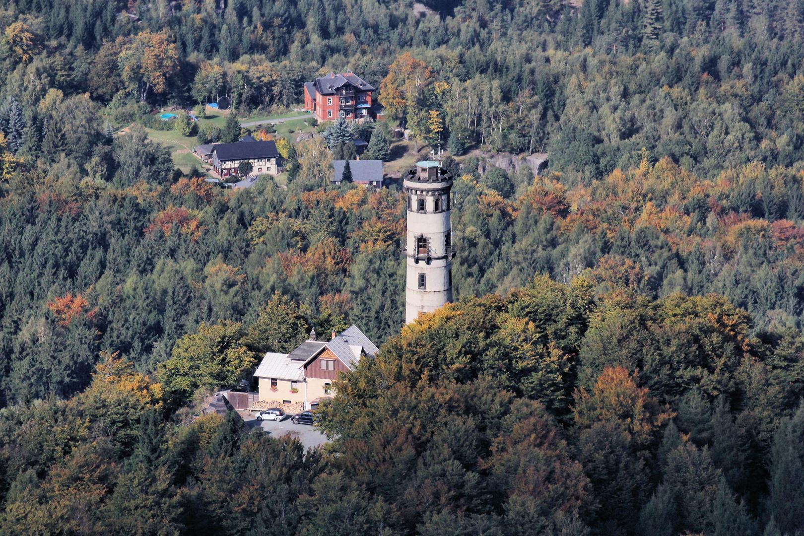 Hochwald-Turm im Zittauer Gebirge