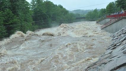 Hochwasser 2013 in Wilkau- Haßlau
