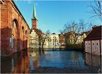 Hochwasser 2019 - Lübeck - Obertrave