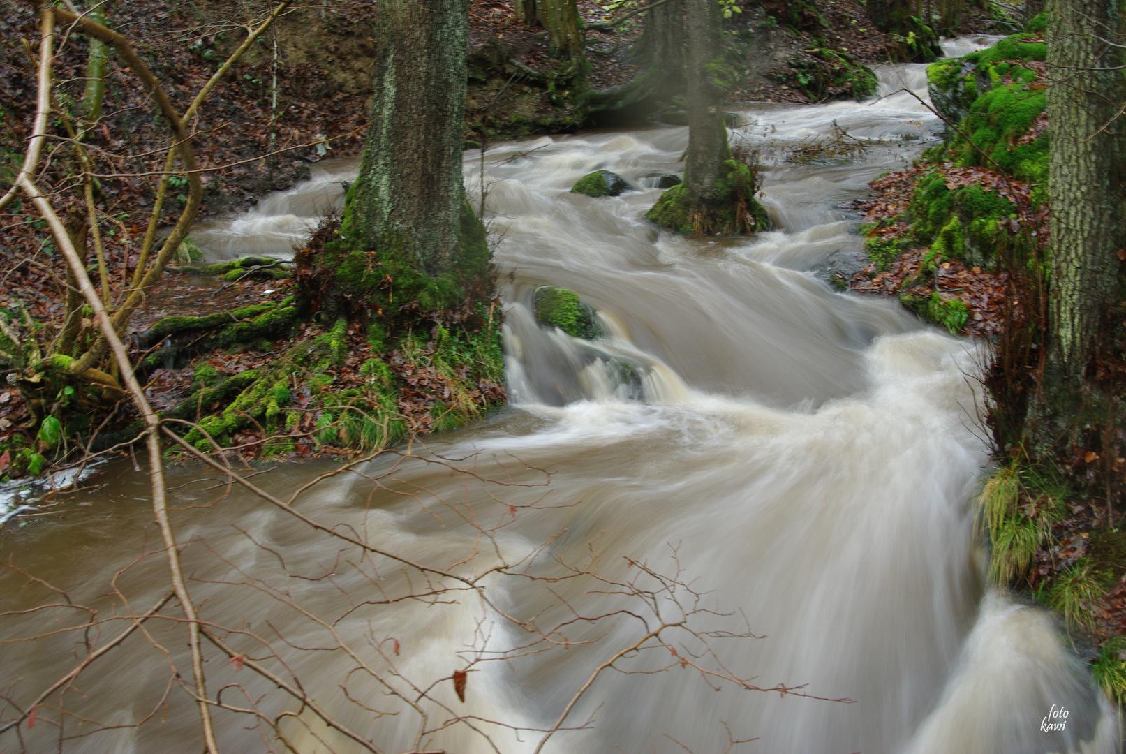 Hochwasser..