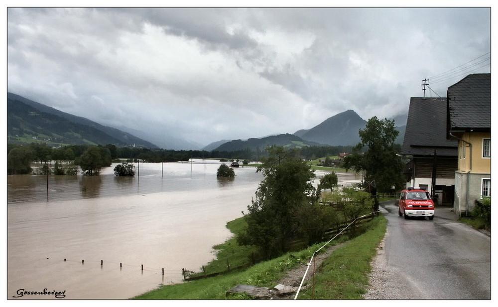 Hochwasser im Ennstal I