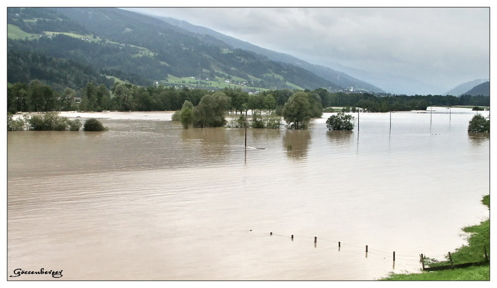 Hochwasser im Ennstal III