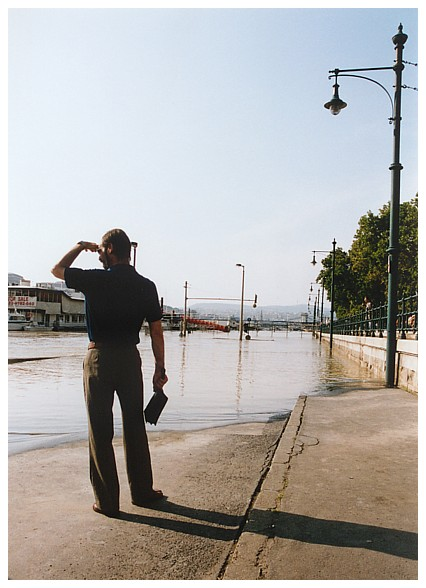 Hochwasser in Budapest