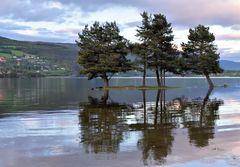 Hochwasser in Fagernes