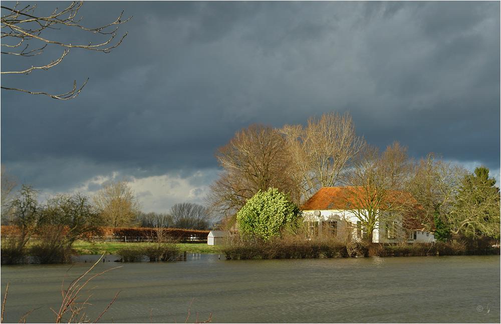 Hochwasser in Holland