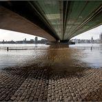 Hochwasser in Köln 2011-3
