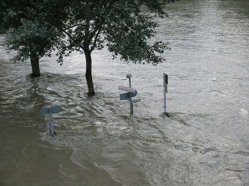 hochwasser in linz - wo gehts hier bitte nach...?