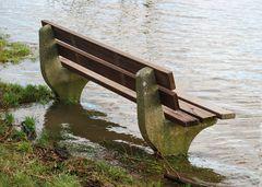 Hochwasser kommt..