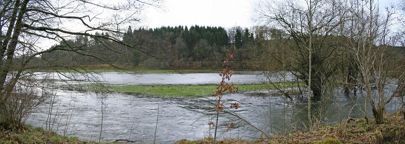 Hochwasser nach den Regen