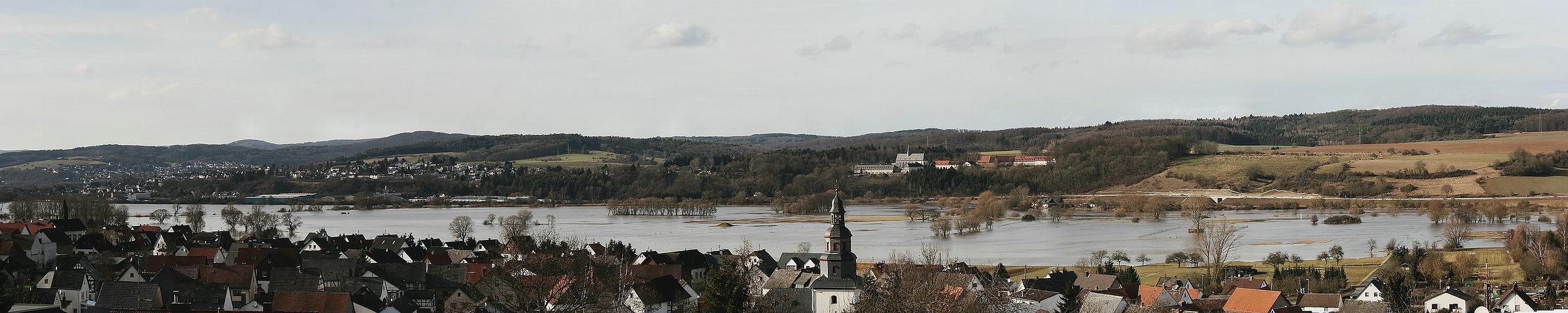 Hochwasser-Pano