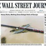 Hochwasser Wallstreet