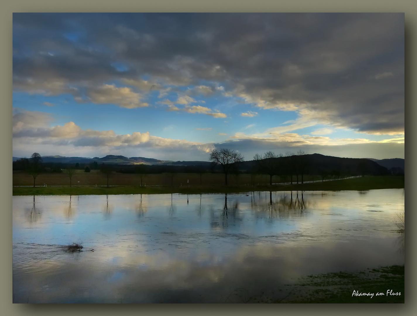 Hochwasser Weser