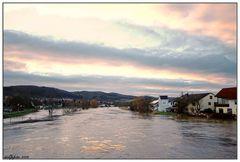 """""""Hochwasseridylle"""" an der Werra"""
