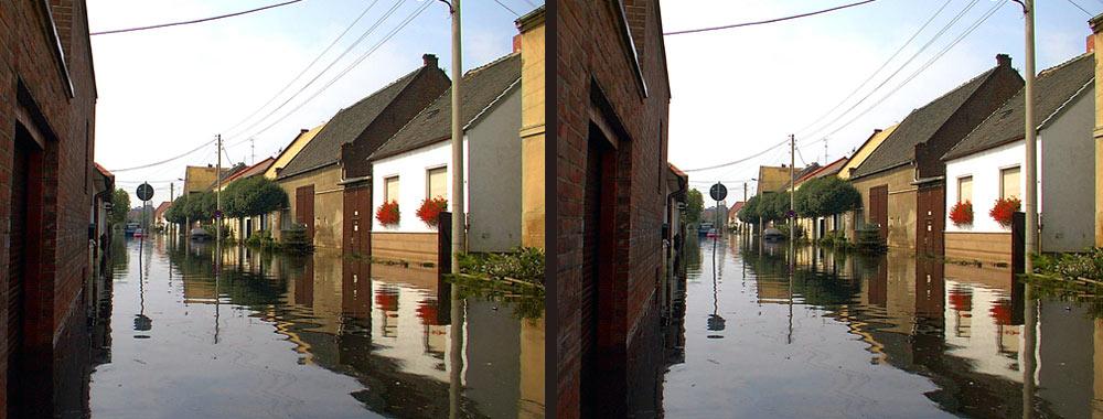 Hochwasserkatastrophe 2002 - Dessau