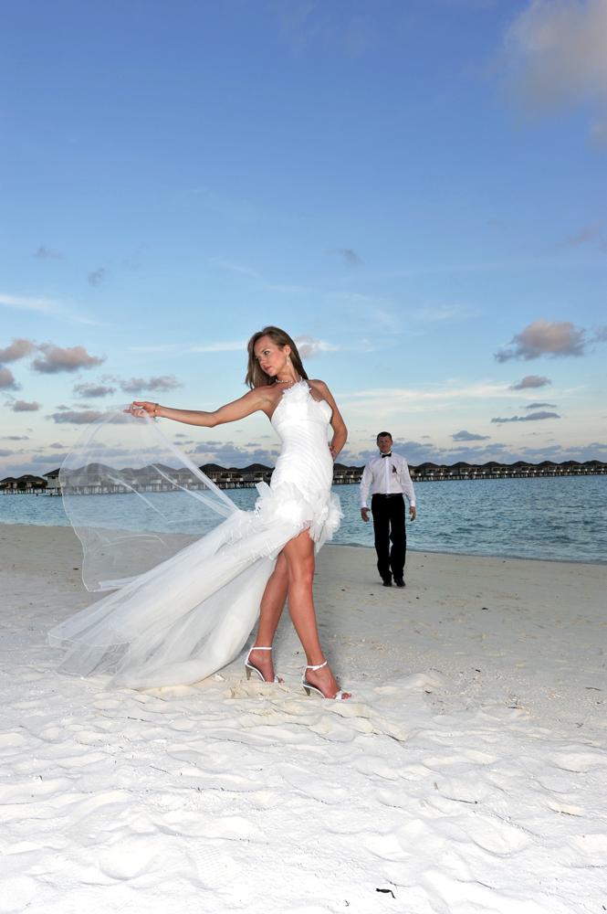 Hochzeit 2 Malediven Foto Bild Erotik Frau Glamour Bilder Auf