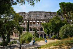 Hochzeit am Colosseum - Rom -