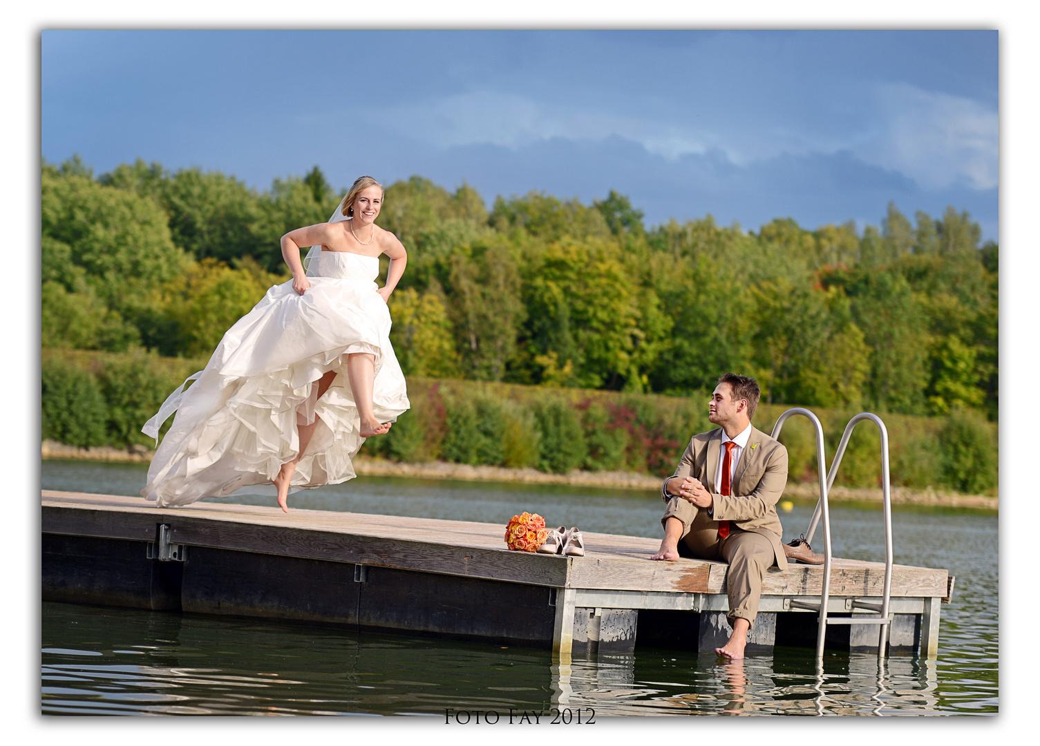 Hochzeit Am See Foto Bild Hochzeit Kinder Hochzeitsfotos