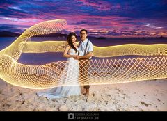 Hochzeit auf den Seychellen.