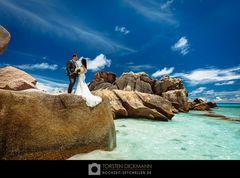 Hochzeit auf La Digue / Seychellen