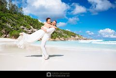 Hochzeit auf La Digue (Seychellen)