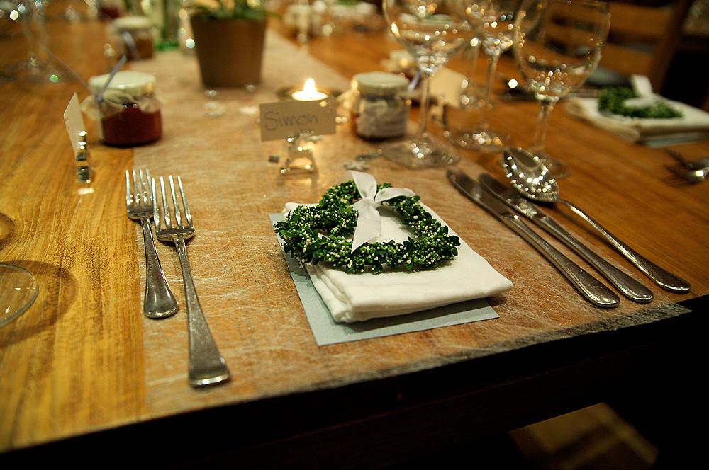 Hochzeit Gestaltung Essenstisch Dekoration