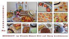 Hochzeit im Claude-Monet-Stil auf Burg Aschhausen Nr.2