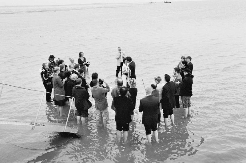 Hochzeit im Wattenmeer