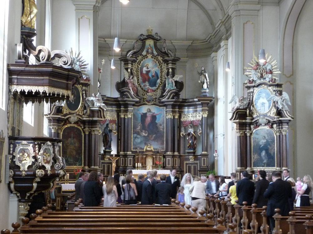 Hochzeit in der Kath. Kirche Maria Himmelfahrt in Hachenburg
