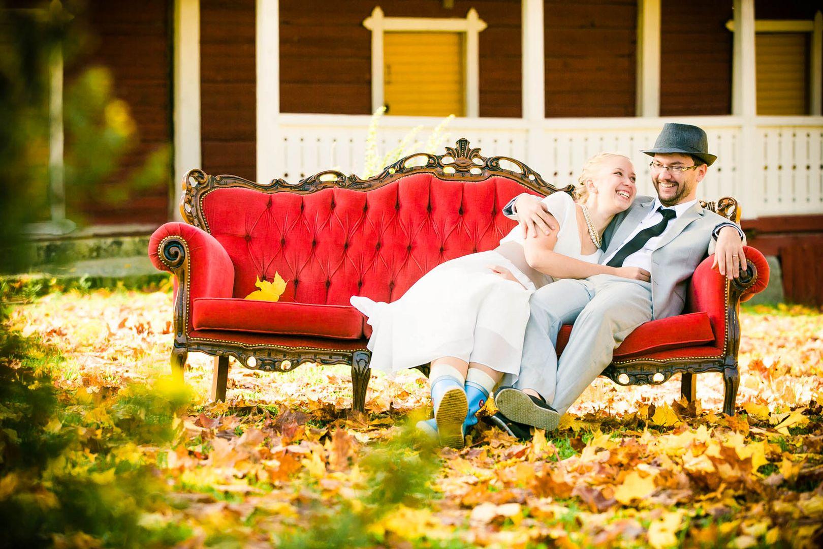 Hochzeit in Finnland