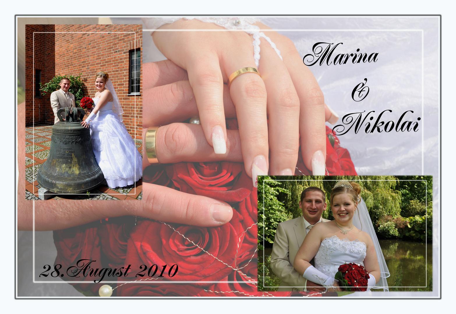 Hochzeit M&N / Collage