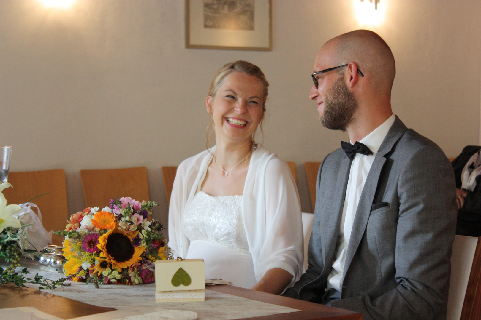 Hochzeit Sarah und Patrick - 2 Und wia i di wui!