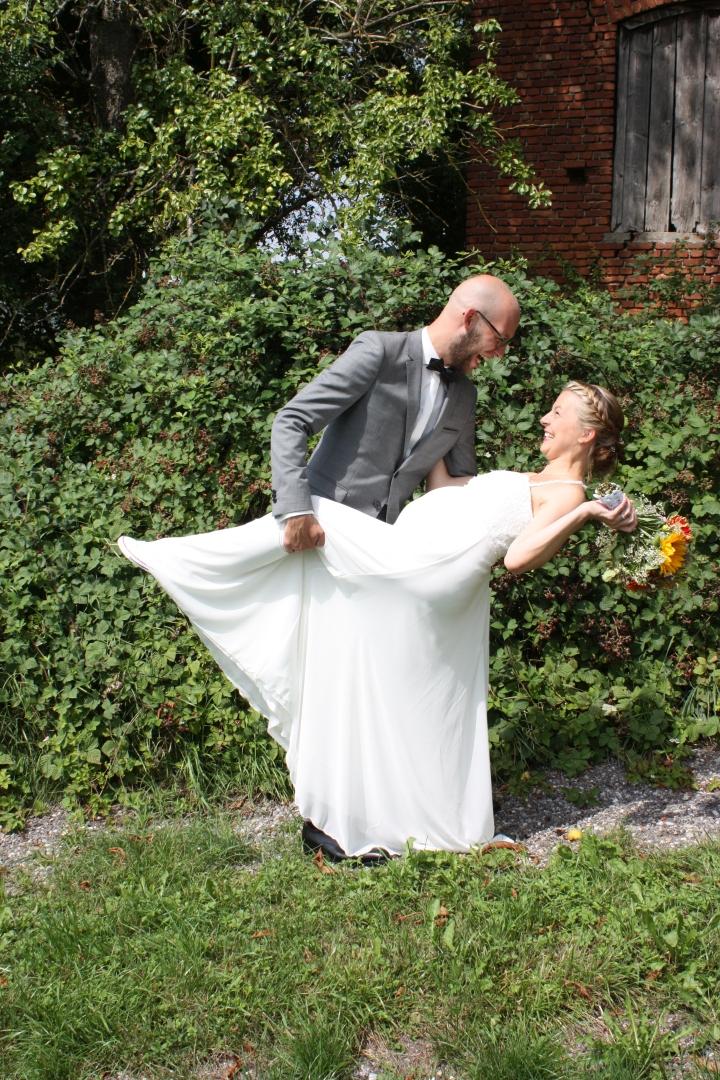 Hochzeit Sarah und Patrick - 8 Halt mich fest!