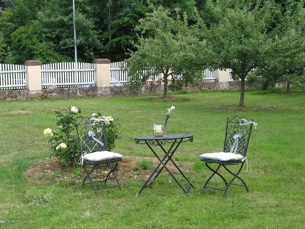 Hochzeits-Ambiente