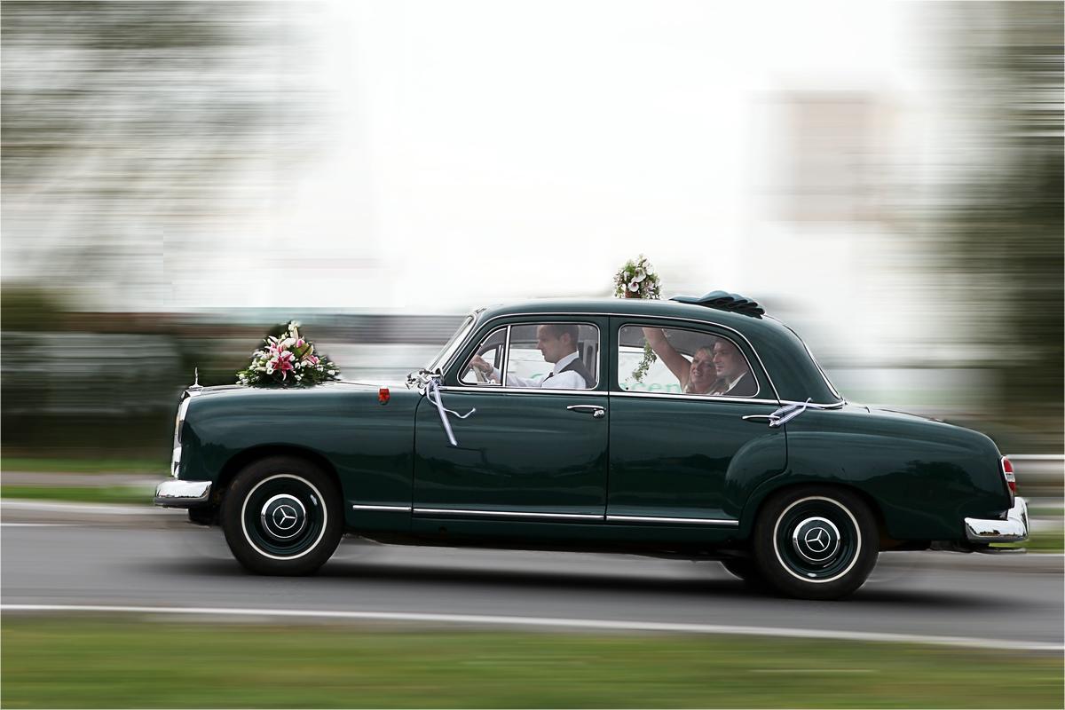 Hochzeits-Kreisverkehr