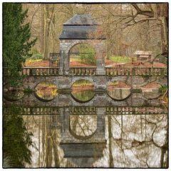 Hochzeitsbrücke auf Schloss Dyck