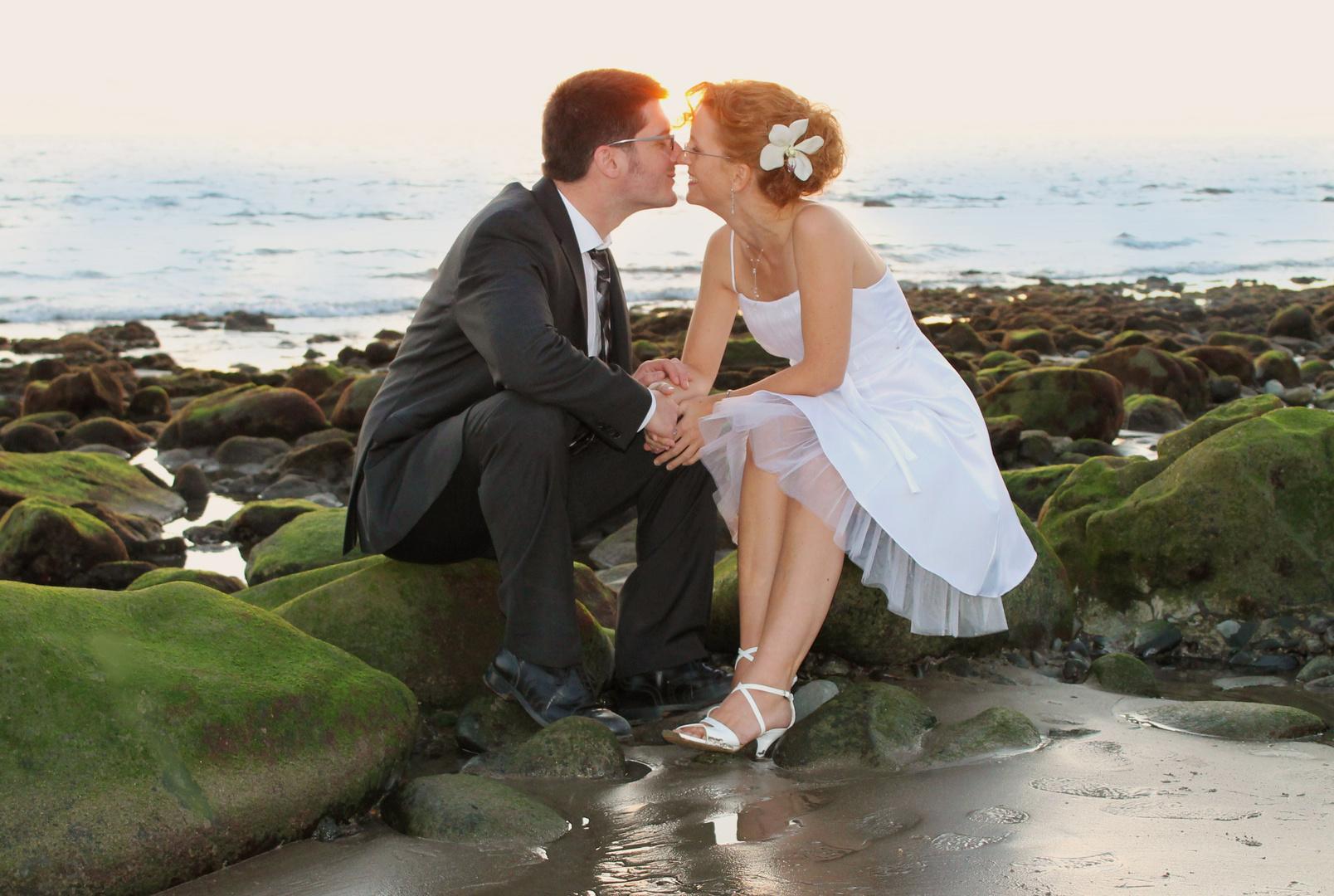 Hochzeitsfeier Am Strand Foto Bild Hochzeit Gran Canaria