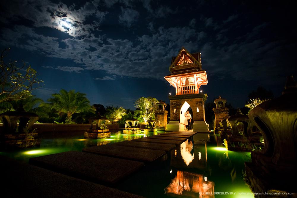 Hochzeitsfoto in Thailand