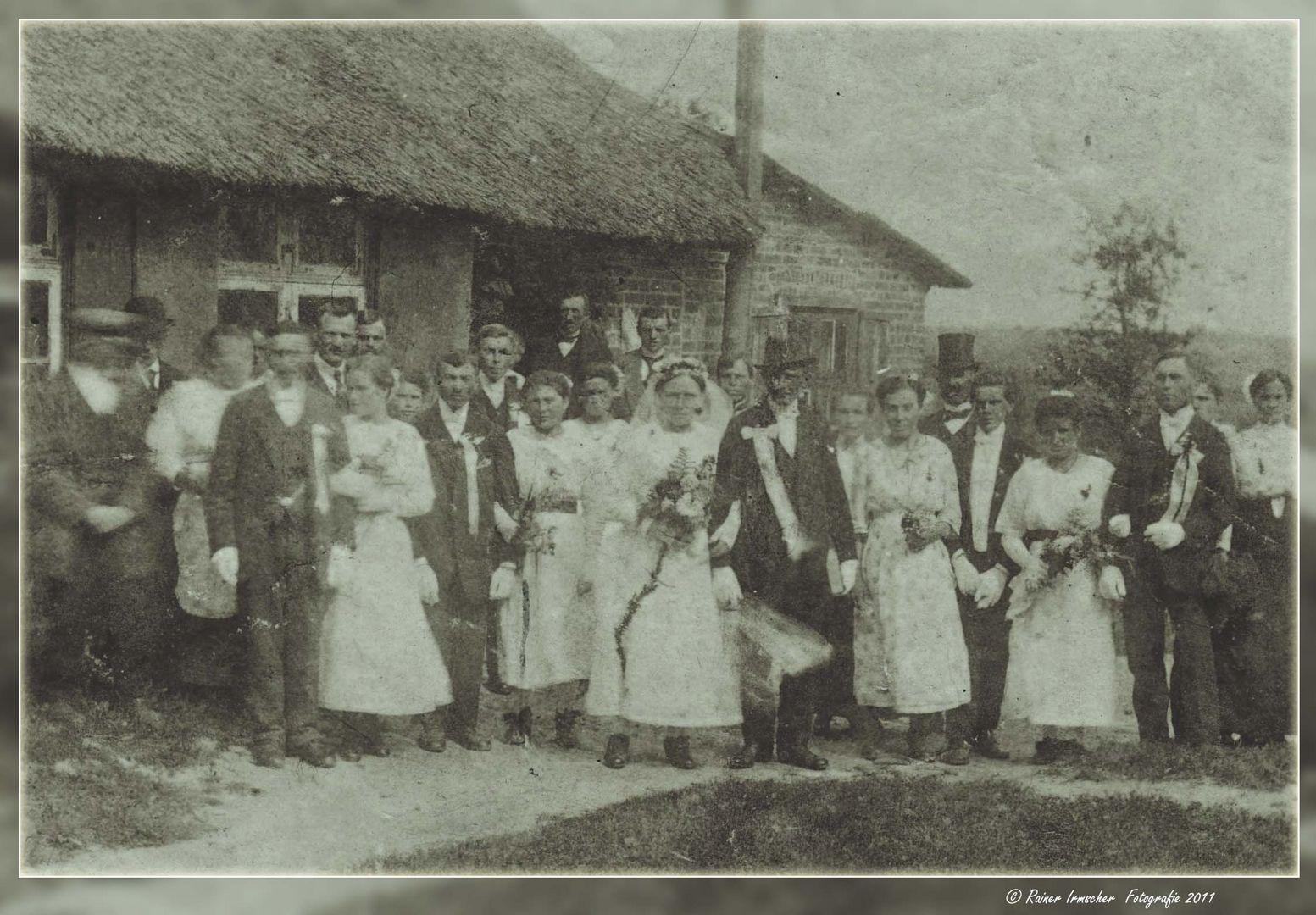 Hochzeitsfoto um 1920...
