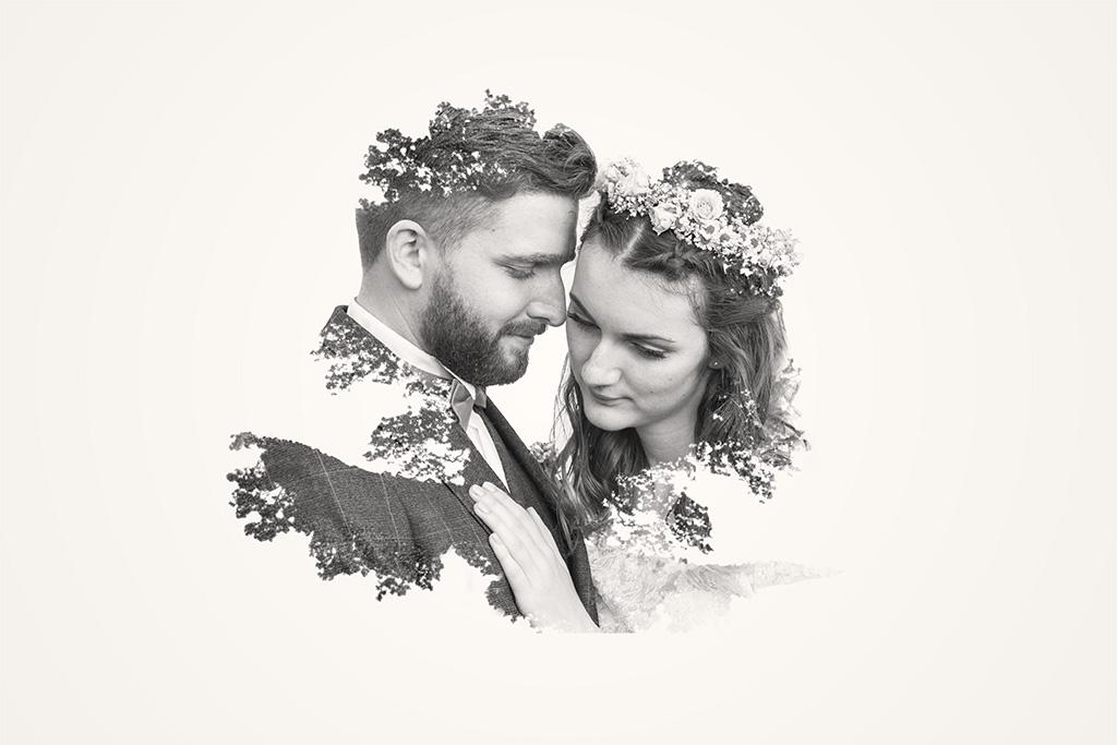 Hochzeitsfotografie - Brautpaar