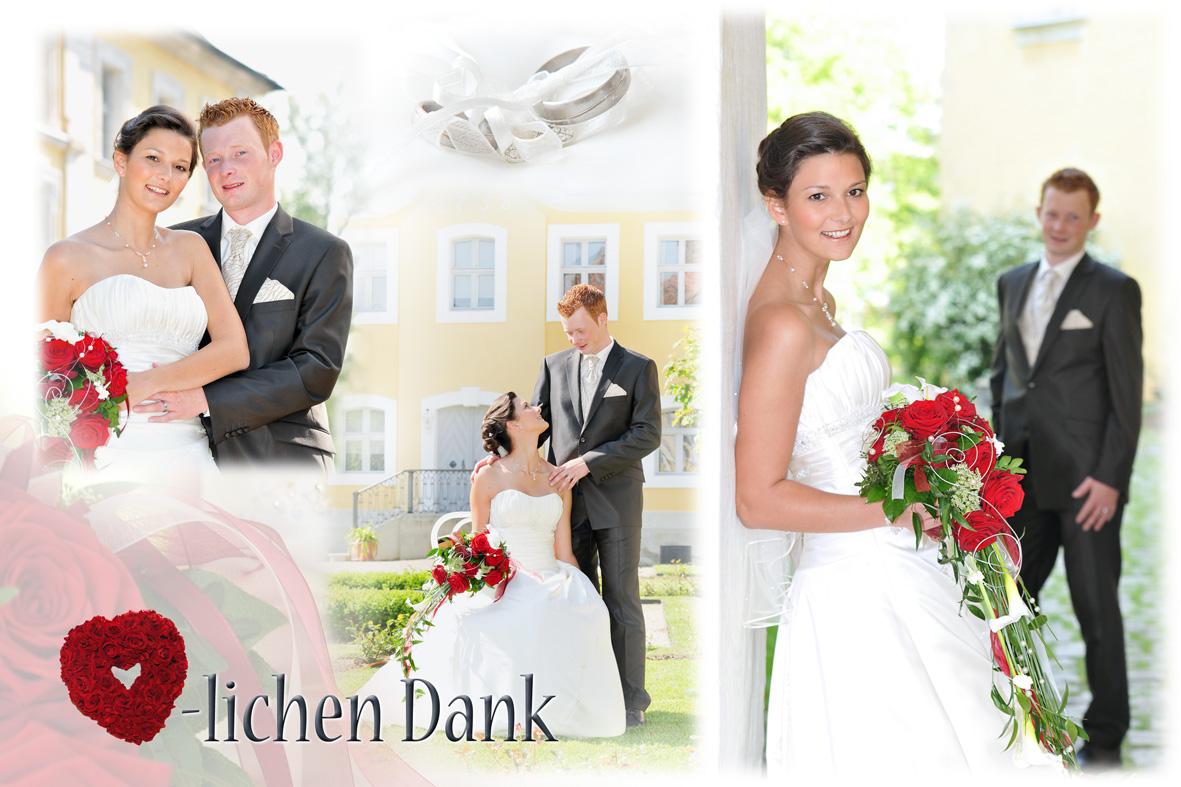 Hochzeitsfotos auf Schloss Thurn Heroldsbach