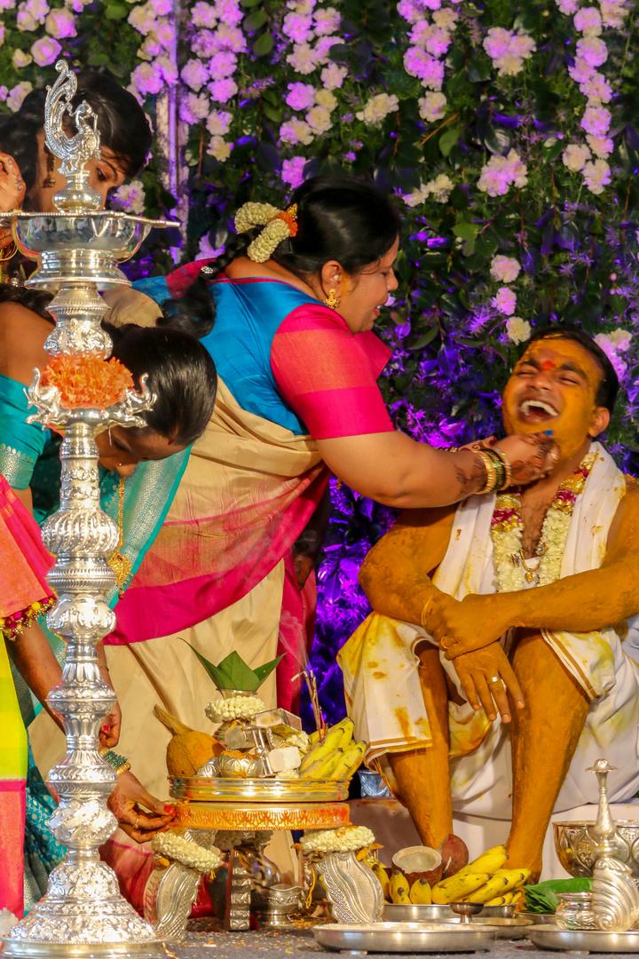 Hochzeitszeremonie 1 Indien Foto Bild World Religion Farben