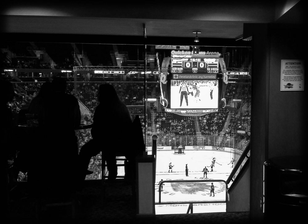 Hockey from the Lounge