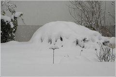 Hods Schnee auf'm G'länder no isch Wender.....