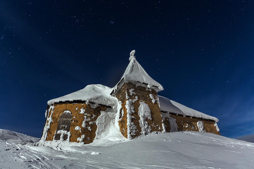 Höchst gelegene Kirche der Ostalpen in 2167m